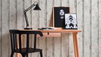 Vinyltapete Best of Wood`n Stone 2nd Edition A.S. Création Landhausstil Holzwand Creme Grau Weiß 701
