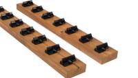 planeo  Unterkonstruktion Holzfassade Rhombusleiste Termo-Kiefer PaC 2,0 m - Für 20x52 inkl. PaCs