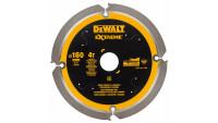 DeWalt Diamant Kreissägeblatt PCD 160mm 4 Zähne - 20mm Aufnahme