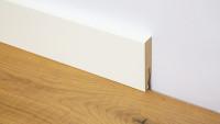 planeo Sockelleiste Modern weiß 18 x 80 mm