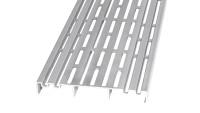 planeo Terrassen Lüftungsgitter - Ventilationsprofil 1200x150x20mm