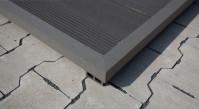 planeo WPC-Winkelleiste dunkelgrau für Terrassendielen - 2.2m