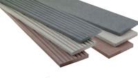 planeo WPC-Abdeckleiste grau für Terrassendielen - 2.2m