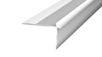 Prinz Treppenkantenprofil 42 x 26 mm - silber - 250 cm bis 5 mm