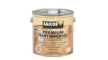 Saicos PREMIUM Hartwachsöl Weiß transparent matt 0,75l