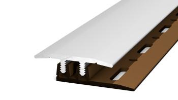 Prinz Übergangsprofil Profi-Design 100 cm Silber