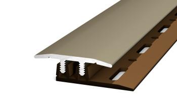 Prinz Übergangsprofil Profi-Design Edelstahl matt 270 cm