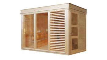 planeo Sauna Paradiso 3x2 (2-Raum) naturbelassen