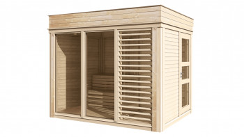 planeo Sauna Paradiso 3x2 (1-Raum) naturbelassen