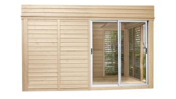 planeo Sauna Paradiso 4x3 (2-Raum) naturbelassen