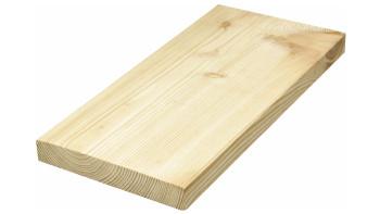 TerraWood Holzterrasse - LÄRCHE sibirisch 26 x 143mm beidseitig glatt