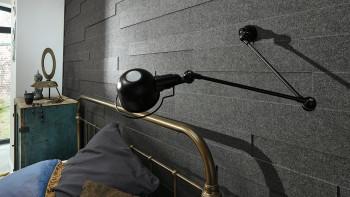 Planeo Akustikpaneele AkusticWall Filz quarzgrau 840 x 300 x 14 mm