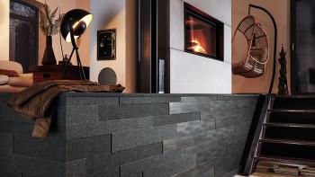Planeo Akustikpaneele AkusticWall Filz schiefergrau 840 x 300 x 14 mm
