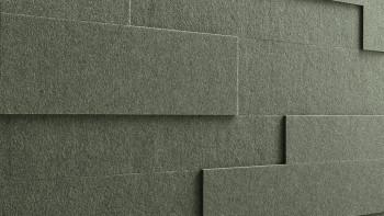 Planeo Akustikpaneele AkusticWall Filz olive 840 x 300 x 14 mm