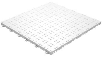 planeo Klickfliese Grip - Weiß - 6 Stk - 0.96m²