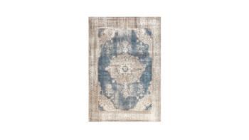 planeo Teppich - Vintage 8400 Creme / Blau