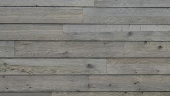 Wandverkleidung Holz planeo Woodwall Easyfix - Eiche Grau