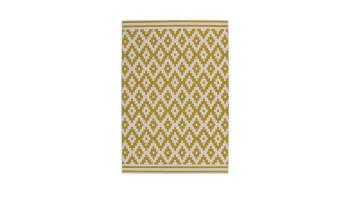 planeo Teppich - Now! 300 Elfenbein / Gold