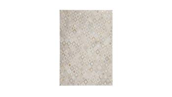 planeo Teppich - Spark 110 Elfenbein / Gold