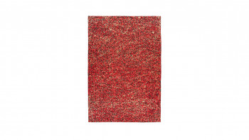 planeo Teppich - Finish 100 Rot / Gold