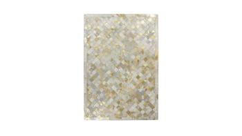 planeo Teppich - Lavish 210 Elfenbein / Gold