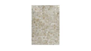 planeo Teppich - Spark 210 Elfenbein / Gold