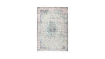 planeo Teppich - Vintage 8401 Elfenbein / Mint