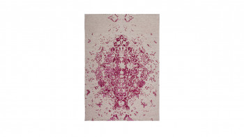 planeo Teppich - Ballerina 700 Elfenbein / Pink