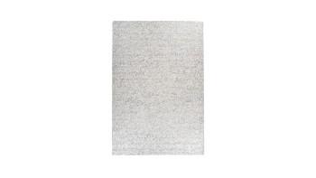 planeo Teppich - Finish 100 Weiß / Silber