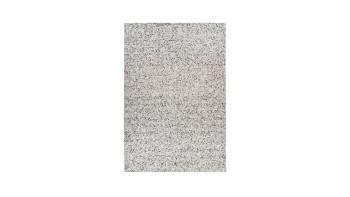 planeo Teppich - Finish 100 Grau / Silber