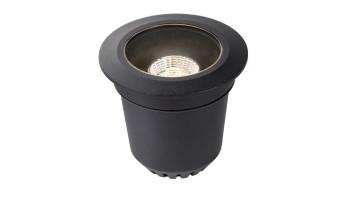 planeo Gartenbeleuchtung 12V - LED-Einbauleuchte Atik R1 Einbaustrahler LED dimmbar - 9W 750Lumen