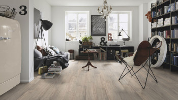 planeo Rigid Klick-Vinyl Alaska Grey Oak - MADE IN GERMANY
