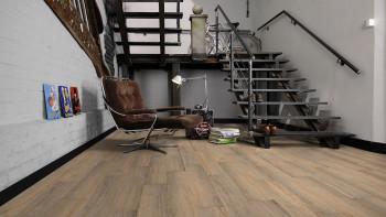 planeo Sonderposten Vinylboden - Klebevinyl Arizona Rustic Oak