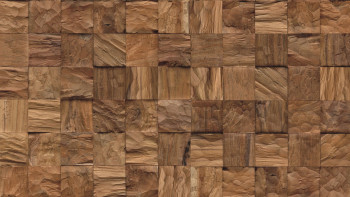 Planeo WoodWall - Crystalwood Cube Natural