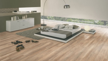 planeo Laminat medium Brown Oak