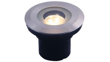 planeo Gartenbeleuchtung 12V - LED-Einbaustrahler Agate - 3W 190Lumen