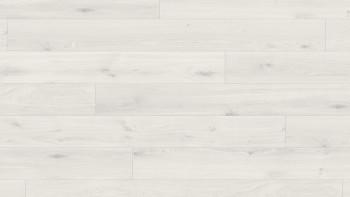 Parador Laminat - Basic 400 - Eiche kristallweiß - Holzstruktur - mini-4V-Fuge - 1-Stab Landhausdiele