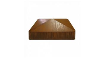 planeo Basic - Pfostenkappe Golden Oak