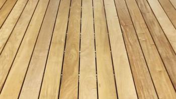 TerraWood Holzterrasse - GARAPA PRIME 21 x 145mm beidseitig glatt