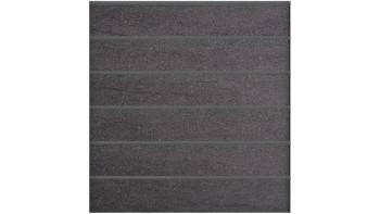 planeo Stonefence - Keramik-Steckzaun Quadratisch Anthrazit 181,5 x 183