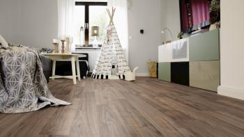 Wineo Bioboden 1500 wood Napa Walnut Brown