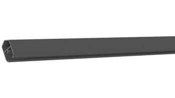 planeo Solid - Abschlussprofil Anthrazit 180cm