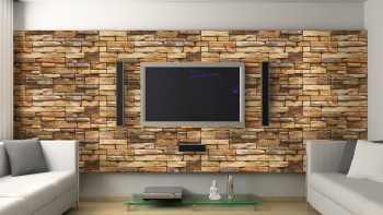 planeo 3D Wall Panels Fulvous Slate
