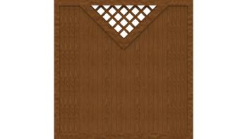 planeo Basic Typ B 180 x 180 cm Golden Oak