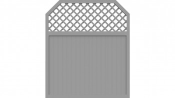 planeo Basic Typ I 180 x 210 cm Silbergrau