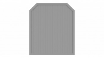 planeo Basic Typ J 180 x 210 cm Silbergrau