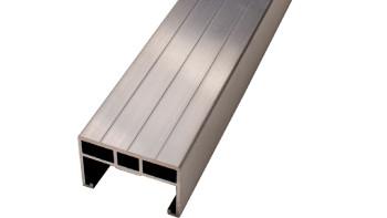 planeo Alu - Unterkonstruktion für Terrassendielen 4m