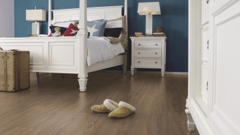 Wineo 500 medium V4 - Flowered Oak Darkbrown