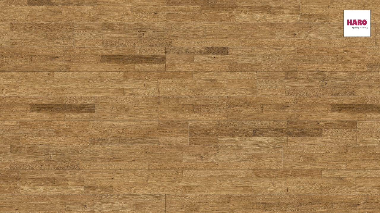 Haro Parkett Serie 4000 Eiche Terra relief strukturiert 4V | Baumarkt > Bodenbeläge > Parkett | Haro