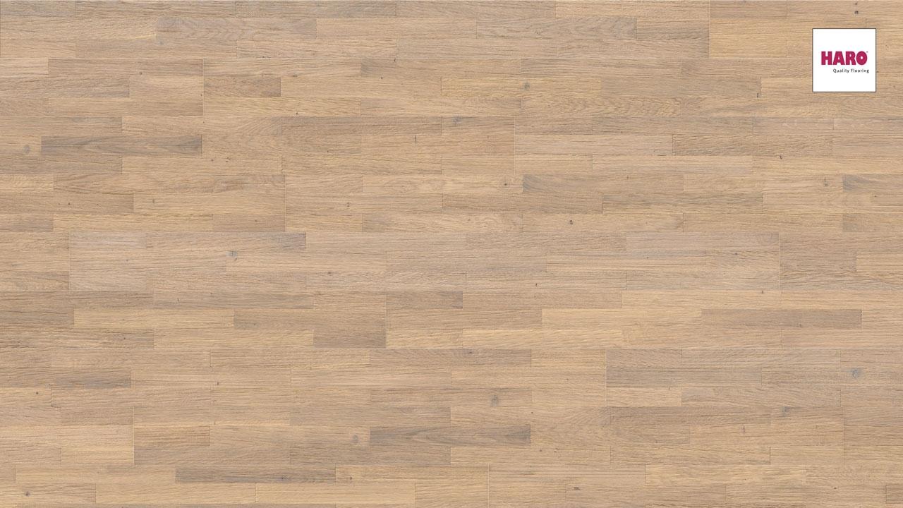 Haro Parkett Puro 4000 Eiche weiß Terra relief strukturiert | Baumarkt > Bodenbeläge > Parkett | Haro
